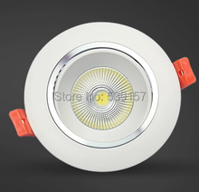 12W 9W COB LED Downlights Fixture Recessed Lights Warm/Cool White Ceiling Down Lights+Power Supply 50000Hrs+3 Years Warranty