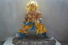 MODEL FANS Anime Dragon Ball Z 28CM Son Goku Resin GK Action Figure Toys