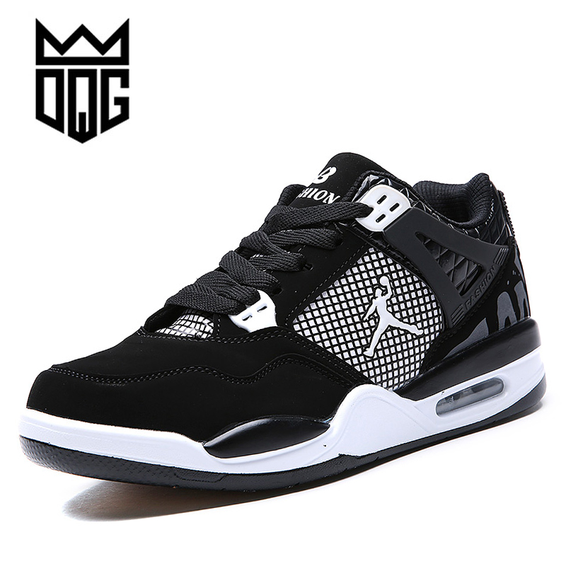 DQG 2017 Mens Basketball Shoes Breathable Jordan Shoes Men Basketball Sport Shoes Autumn Ankle Boots Outdoor basket homme<br>