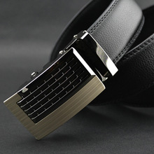 Newest Designer Belts Men High Quality Genuine Leather Famous Brand S Gold Silver Automatic Buckle Belt Waist Strap Male(China)