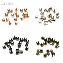 Buy Lychee 20pcs Mini Round Rivet Doll Clothing Rivet DIY Handmade Sewing Scrapbooking Accessories for $1.07 in AliExpress store