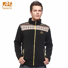 2017 Merrto Mens Fleece Hiking Jackets Mountain Clothing Color Blue Brown Black Green For Male Free Shipping  MT19157