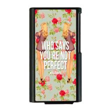 10pcs/lot For iPod Nano7 shivering back cover casesfresh style flower design Hard PC Case For Apple iPod Nano 7 nano7