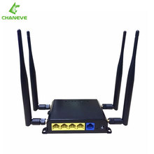 New OpenWrt English firmware Dual Band WIFI Router 1200Mbps 2.4G 5.0G 802.11AC Wireless Router with 4*5dBi Antenna with usb port