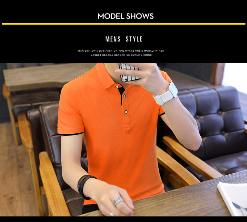 SD Polo Shirts Men 2018 New Arrivals Casual Male Polo Shirts Breathable Cotton Tops High Quality Solid camisa Polos Homme 413 15
