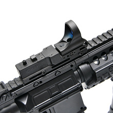 New Tactical Red Dot Scope EX 182 Element SeeMore Railway Reflex C-MORE Red Dot Sight 6 Color Optics Free Shipping