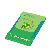 Buy Tissue Papers Green Tea Smell Makeup Cleansing Oil Absorbing Face Paper Absorb Blotting Facial Cleanser Face Tools 80sheets/pack for $1.11 in AliExpress store
