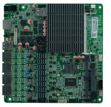 Bay Trial SOC Platform Dual Core j1800 Fanless Mini ITX 4 Ethernet LAN Ports Motherboard