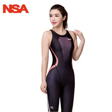 Buy NSA 2017 Women's Swimsuits Sharkskin Racing Swimwear Women Swimsuit Girls One Piece Swim Wear Competitive Swimming Suit for $29.95 in AliExpress store