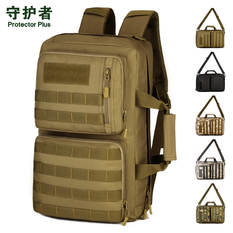 Protector Plus S417 Outdoor Sports Bag 35L Camouflage Nylon Tactical Military Trekking Messenger Bag Hiking Cycling Backpack<br>