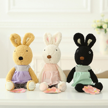 Original le sucre 30cm kawaii Rabbit plush toys bunny kids toys High-quality Changing clothes Stuffed doll for children toy gift(China)