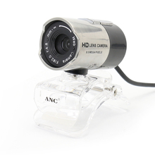 20116 NEW  Brand ANC Webcam HD Web Camera With Microphone 1.5M USB Cable For Laptop&desktop Computer Accessories