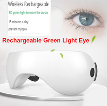 Optics 3D Eye Massager Restore Myopia Glasses EMS Acupressure Eye Care Head Massage Three months to restore 120 degree Vision(China)