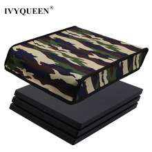 IVYQUEEN Camoufla DustProof Case For Sony PlayStation PS 4 Pro Console Camo Dust Proof Neoprene Cover For Horizontal Place(China)
