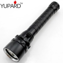 YUPARD New Diving  4000 lumens  XM-L2 3*L2 LED Flashlight Torch Waterproof underwear Lamp Light super T6 white yellow light