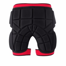 New 3D Protection Hip EVA Padded Short Pants Thickening Butt & Tailbone Protector For Ski Skiing Skating Snowboard Cycling(China)