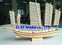 NIDALE model Free shipping Scale 1/80 Chinese ancient sailboat model kits Song Dynasty Large Junk ship model(China)