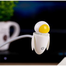 Catoon WALL E Robot EVA USB Night Light LED Desk Lamp Keyboard Book Reading For Computer PC Laptop creative gift(China)