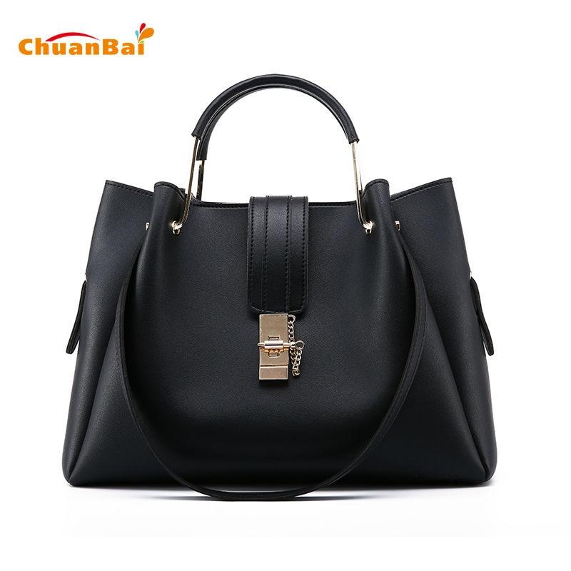 ChuanBai Women Bag Bolso Mujer Moda Handbag Women Messenger Bags Shoulder Bag With Solid Color Ladies Hand Crossbody Bags CBP14<br>
