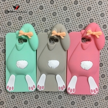 3D Cute Cartoon Rabbit Silicone Soft Case Back Cover Samsung Galaxy 2016 5 on5 J5 Prime /on 7 on7 J7 Fundas - Wholeseller Online Store store