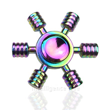 Buy 10Pcs/Lot Colorful Fidget Toys EDC Hand Spinner Metal Finger Fidget Spinner Tri-Spinner Desk Focus games Relieve stress Toys for $67.05 in AliExpress store