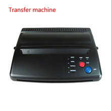 Tattoo Paper Transfer Machine Thermal Stencil Copier Flash Printer with 5pcs Transfer Papers for Tattoo(China)