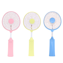 Foldable Hand Fans Battery Operated Rechargeable Handheld Mini Fan Electric Personal Fans Hand Bar Desktop Fan