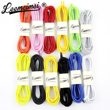 5pair/lot Flat Lace 100cm Elastic Shoe Laces Running Colored Shoelaces No Tie Shoelaces For Adult and Children