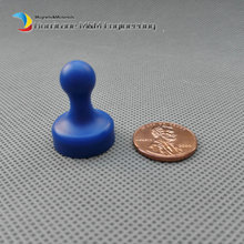 "12 pcs Magnetic Drawing Pin Blue Dia19.05 mm 0.75"" Large NdFeB Magnet drawing tack for Office Home School Magnetic Thumbtack"