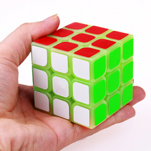 Square Magic Cube Luminous Neo Stress Magic Cubes Puzzle Speed Speelgoed Voor Kinderen Cubos Magicos Game Cube Spinner FX6K005(China)