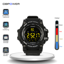 DBPOWER Bluetooth Smart Wristwatch Digital Fitness Sync SmartWatch Waterproof IP67 Pedometer Sports Smart Watch for IOS Android