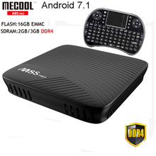 MECOOL M8S Pro Android 7.1 TV Box 2GB DDR4 RAM/16GB EMMC Flash Amlogic S912 Octa Core Media Player 2.4G/5G Wifi Bluetooth 4.1+HS