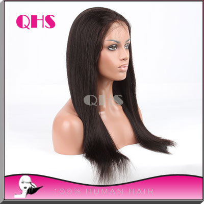 sales promotion Full lace human long hair wigs for black women Glueless full lace wigs straight brazilian hair lace front wigs<br><br>Aliexpress
