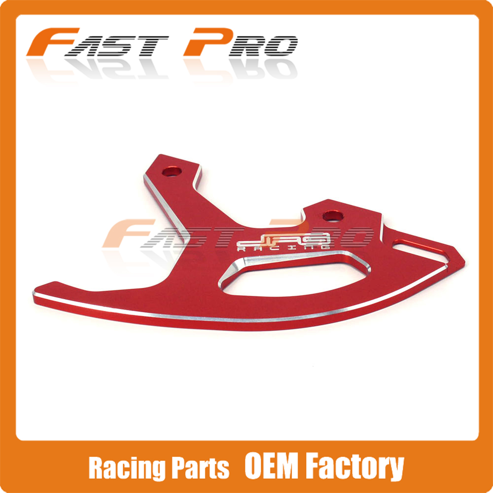 CNC Red Billet Rear Brake Disc Guard Protection for Honda CR125R CR250R CRF250R CRF450R CRF450RX CRF250X CRF450X Dirt Bike<br>
