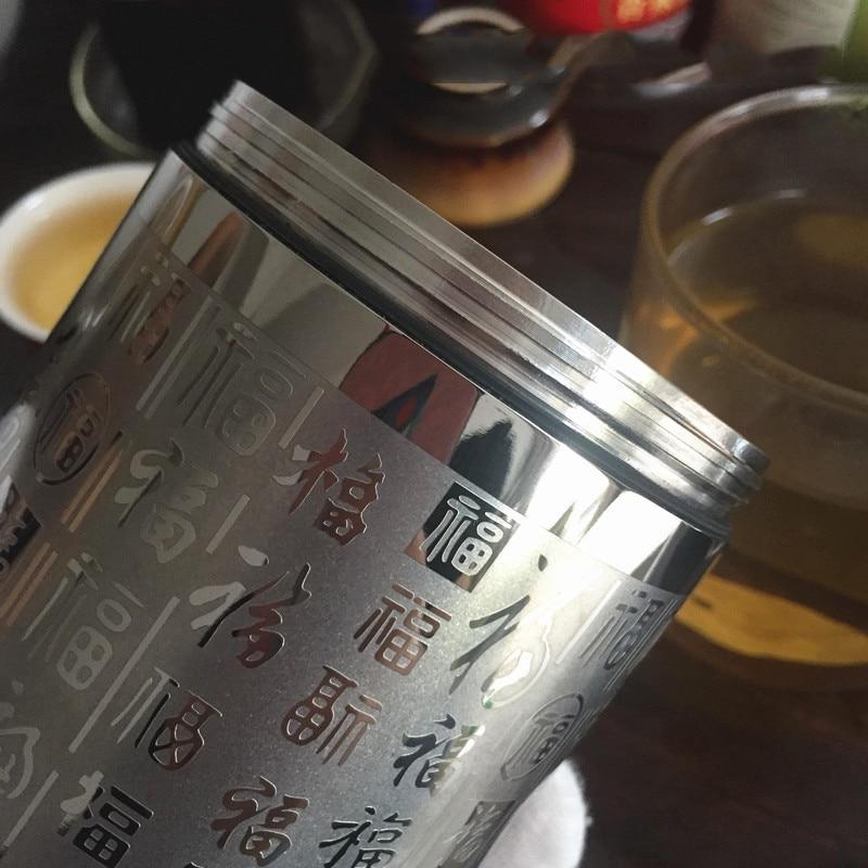 EDC Titanium Alloy Storage Ultralight Portable Coffee Tea Can Container Tools