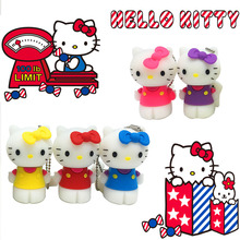 100% real capacity Slippers Pen Drive Cartoon hello kitty gift 4GB 8GB 16GB 32GB tom cat Usb Flash Drive Pendrive Free Shipping