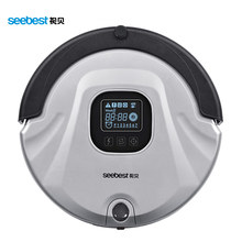 Seebest C565 Auto Recharge Robot Remote Control Vacuum Cleaner Anti Collision Anti Fall,LCD Screen,HEPA Filter,Auto Clean