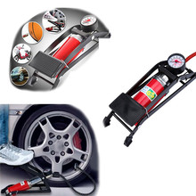 2017 New Foot Pump Air Pump Inflator Tire Bicycle Balls Portable Air Pump high quality car-styling car accessories(China)