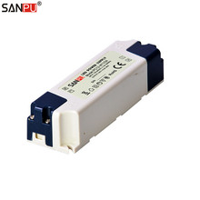 SANPU SMPS 24v 12w LED Driver 0.5a Constant Voltage Switch Power Supply 220v 230v ac-dc Lighting Transformer Indoor IP44 Plastic(China)