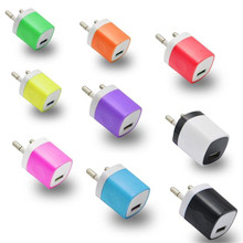 Woweinew 2016 new arrival USB Power Adapter EU Plug Wall Travel Charger for iphone for Samsung for LG G5