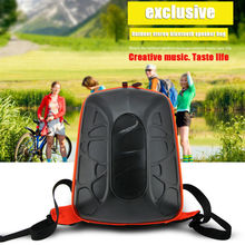 Bike bicycle outdoor backpack speaker bag answering calls microphone equipment accessories bag support bluetooth TF card play