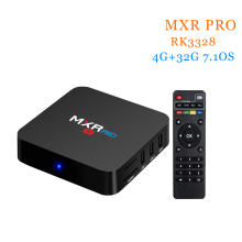 [WeChip] MXR PRO 4k android tv box 4G+32G RK3328 Quad-Core 64bit 7.1 OS 2.4G Wifi Kodi 17.3 1080P Full HD Media Player(China)