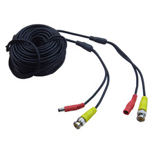 New Arrival CCTV Camera Accessories 30m BNC Video Power Siamese Cable for Surveillance DVR Kit Length 30m 65ft Power video cable