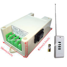 DC Motor Controller WIth Wireless Remote Control 12V/24V Control Board Forward and Reverse Adjustable