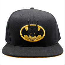 batman dark knight Cosplay Adult Hat baseball cap arrival fashion Anime Luigi adjustable Buckle octagonal cartoon game cap(China)
