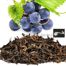 Beautiful Tea strainers+gift Grape Flavor Puerh Tea,Fruit flavor Loose Leaf Pu'er,Slimming Ripe Pu-erh,CTX811