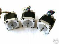3 PCS, 2 phase, 4-Leads 20Kgcm 1.8Degre 78mm CNC NEMA 23 Stepper Motor of Wantai, 3D Printer<br><br>Aliexpress