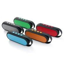 Portable wireless bluetooth Speaker 5 Color Bluetooth Receiver Subwoofer Audio Speaker Card FM Radio Home Theater Party Speakers