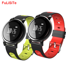 Pedometer Bluetooth Watch With Vibrating Alarm Smart Bracelet Wristband Fitness Tracker Step ip67 Waterproof Blood Pressure Band(China)