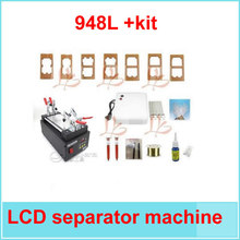 LCD touch screen assembly separator machine +UV glue + cutting wire+ dispergator+ moulds+UV lamp+ rods